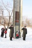 Вертолетный полк почтил память погибших друзей